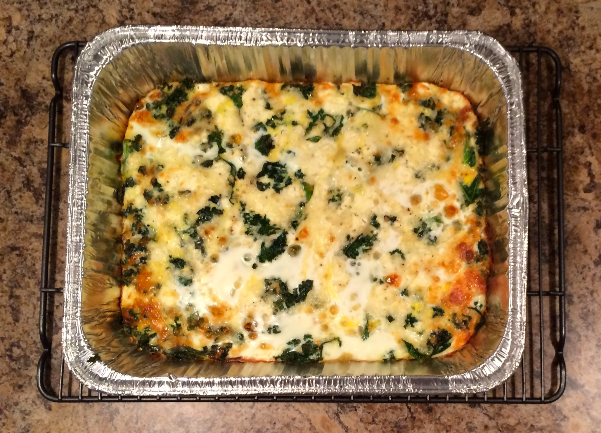 breakfast casserole easy breakfast casserole kale and feta breakfast ...